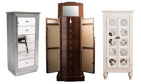 Hives And Honey Jewelry Armoire Stand Up Jewelry Box Stand Or Jewelry Armoire Made Of Wood And