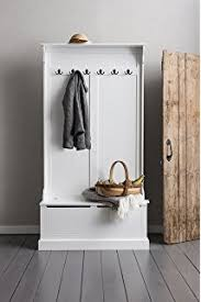 kempton hallway storage bench and wall storage shelf rack with
