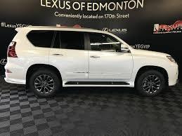 lexus starfire white used 2018 lexus gx 4 door sport utility in edmonton ab l13817