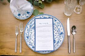Nautical Themed Dinnerware Sets - how to design a nautical themed wedding weddings illustrated