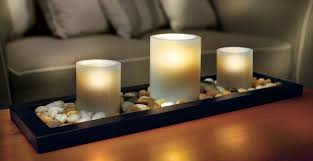 coffee table centerpiece ideas big candles coffee tables