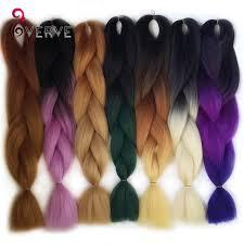 ombre kanekalon braiding hair ombre kanekalon braiding hair braid 100g piece synthetic two tone