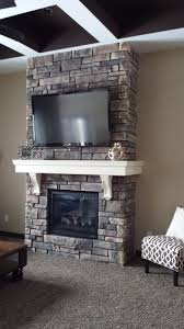 ledge stone fireplace wolf creek country ledgestone sensational