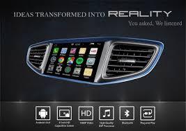 hyundai ioniq hybrid 8 inch android navigation system