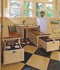 Corner Bench With Storage Kitchen Design 20 Kitchen Corner Bench With Storage Ideas