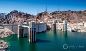 Climate Change Is Shrinking The Colorado River Source Colorado Lake Mead Drops But Hoover Dam Powers On Circle Of Blue