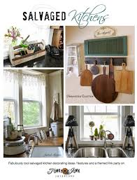 funky kitchens ideas salvaged kitchen decorating ideas from crates to sawhorses funky