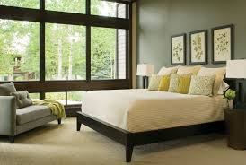 Bedroom Colorful Full Size Bed by Paint Ideas For Bedroom Including Wall Mounted Triple Dark Brown
