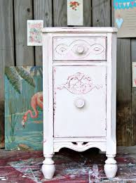 White Painted Furniture Shabby Chic by Shabby Chic Pink And White Paint Layers For Furniture Petticoat