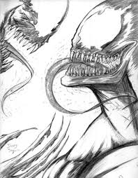 carnage coloring pages carnage vs venom by dougsq on deviantart