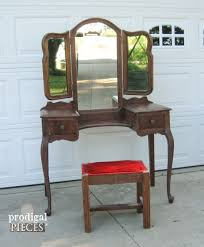 antique vanity table craigslist vanity makeovers 16 different sets redone prodigal pieces