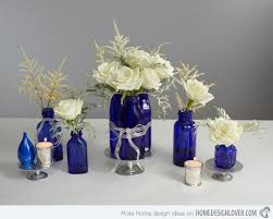blue centerpieces 15 lovely table centerpiece ideas home design lover