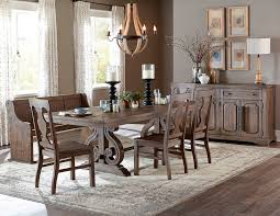homelegance 5438 96 toulon rustic dining room set