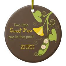 peas in a pod ornaments keepsake ornaments zazzle
