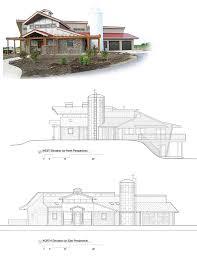 contemporary farmhouse plans one story wrap around porch home