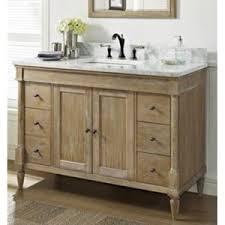 Bathroom Vanity Rustic - f142v48 rustic chic vanity base bathroom vanity weathered oak at