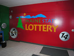 environmental graphics wall murals large format printing environment graphic for maine state lottery
