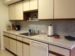 comfortable wallpaper backsplash decoration on small home remodel