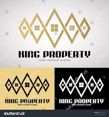 king property logo design luxury style stock vector 551571340