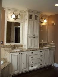 we could do this on the left side of the master bathroom sink