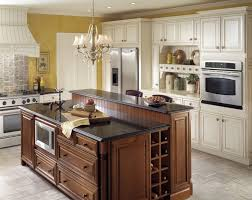 kraftmaid kitchen islands big island with bar top on one side kitchen remodel