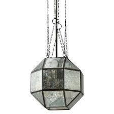 Mercury Glass Pendant Light Mercury Glass Pendant Light Fixture Sea Gull Lighting Medium