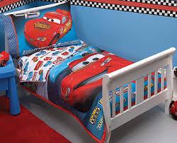 Disney Pixars Cars Taking The Race  Piece Toddler Bedding Set - Cars bedroom decorating ideas