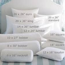 home decor pillows bedding basics for home decor sewing accent pillow shapes sizes