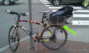 rear bike light rack mount bikehacks lights