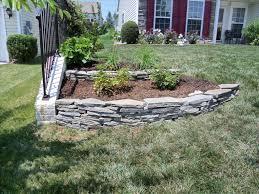 landscape front yard with rocks fleagorcom