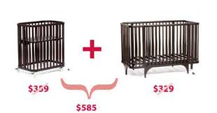 Crib Convertible Toddler Bed by Cribs Room For Young Ones
