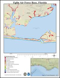 eglin afb map pdf maps for the florida panhandle response restoration noaa gov