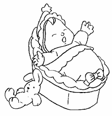 21 baby images drawings digi stamps