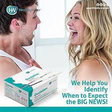 amazon com pregnancy test kit 50 ovulation and 50 pregnancy test