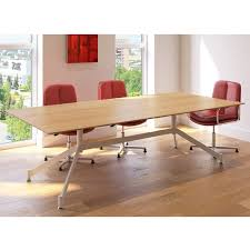 Rectangular Meeting Table Rectangular Meeting Table With Funky Base Table On Stylish Base