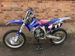 second hand motocross bikes on finance yamaha yz450f motocross bike in stafford staffordshire gumtree