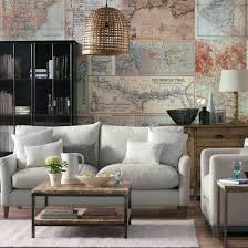 Wallpaper Ideas For Sitting Room - cosy living room looks for autumn ideal home
