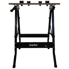 100kg heavy duty portable folding workbench wood bench work