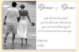 remerciement mariage photo carte de remerciement a imprimer pour un mariage sur carte