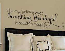 bedroom wall quotes bedroom wall quote etsy