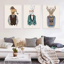 compare prices on zebra framed art online shopping buy low price fashion animals giraffe zebra horse vintage art prints poster hippie wall picture canvas painting no framed