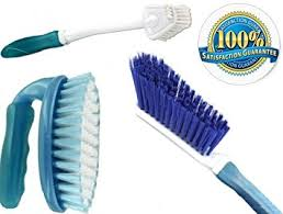 scrub brush set 3 household cleaning supplies