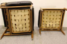 Basket Ottoman by Mid Century Easy Chair U0026 Ottoman By Eric Merthen For Sale At Pamono