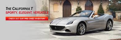 Ferrari California In White - ferrari of san francisco ferrari dealership near san francisco ca