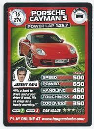 porsche cayman s top gear top gear card turbo challenge 016 porsche cayman s common