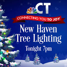 new haven ct tree lighting 2017 leslie mayes home facebook