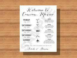 wedding itinerary destination wedding weekend itinerary wedding schedule of