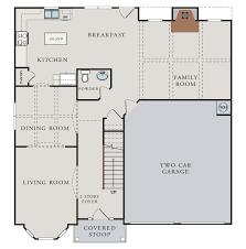2 story floor plans with basement packard pepper hill estates grovetown georgia d r horton