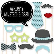 mustache party dashing birthday party theme bigdotofhappiness
