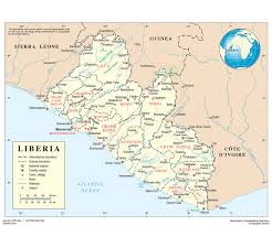 Liberia Map Integrating Peacebuilding Within Policy Frameworks In Post